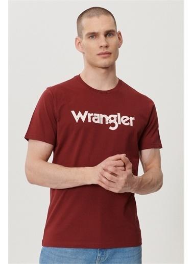 Wrangler Tişört Kırmızı